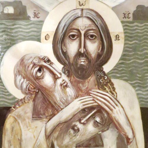 St Drostan - Icon of Confession