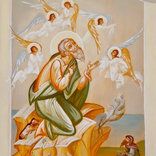 St Columba and the Angels