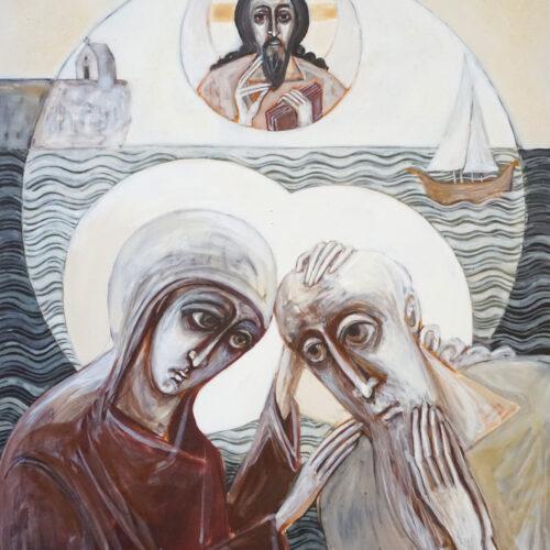 St Brendan and St Ita